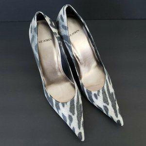 St John Stiletto Heels Leather Sole Made in Spain